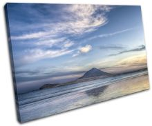 Island Blue Sunset Seascape - 13-0159(00B)-SG32-LO